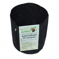 Садовый контейнер-грядка BAGPOT- 26 литр