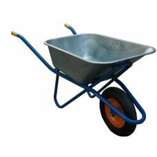 Тачка строительная синяя МИ 110 литров