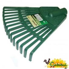 Грабли веерные пластиковые 200ммх14з