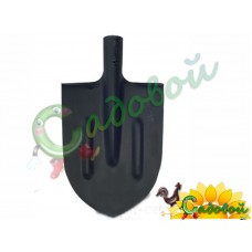 Лопата штыковая без черенка, с ребром жесткости АМЕТ (произведено по ГОСТу)