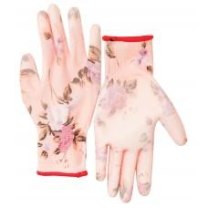 Перчатки нейлон с полиуретан. покрытием 7/S