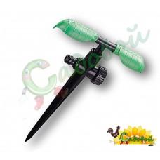 Ороситель 2-х рожковый вращающицся на ножке