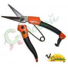 Секатор-ножницы садовые усиленные 178мм SK5